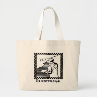 plastering canvas bags