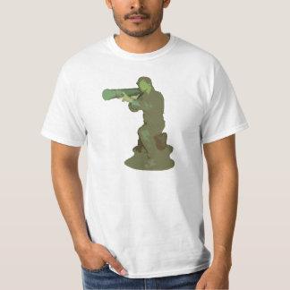 Plastic Army Guy T Shirt