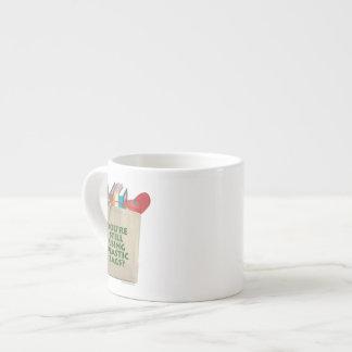 Plastic Bags Espresso Cup