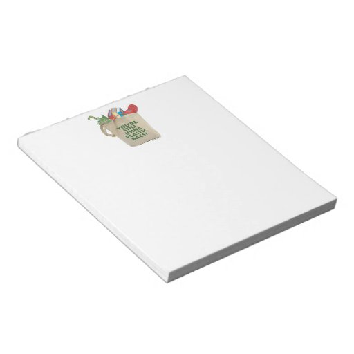 Plastic Bags Memo Note Pad