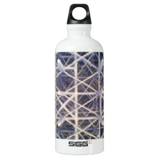 plastic basket aluminum water bottle