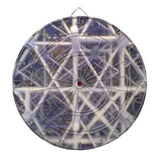 plastic basket dartboard with darts