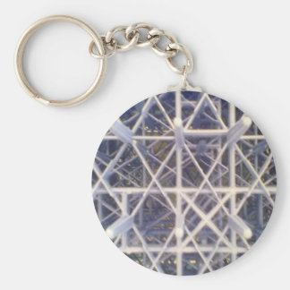 plastic basket key chain