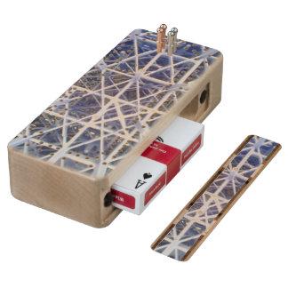 plastic basket maple cribbage board