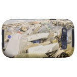 Plastic bottles and ocean dumping on a tropical samsung galaxy SIII covers