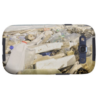 Plastic bottles and ocean dumping on a tropical samsung galaxy s3 cases