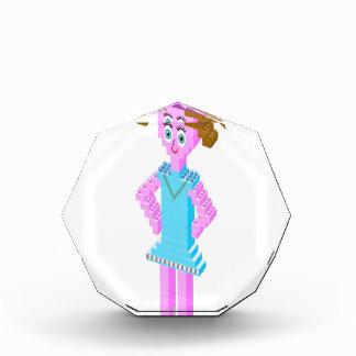 Plastic brick girl design awards