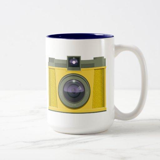 Plastic Camera Mug