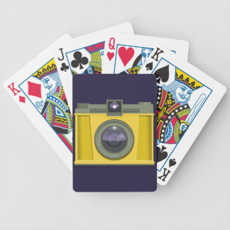 Plastic Camera Playing Cards Bicycle Playing Cards