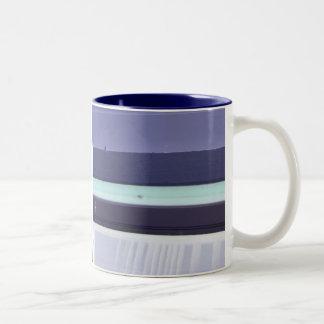 Plastic Chair - Abstract Blue Mug