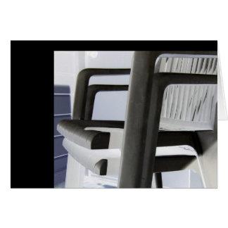Plastic Chair Vertebrae Cards