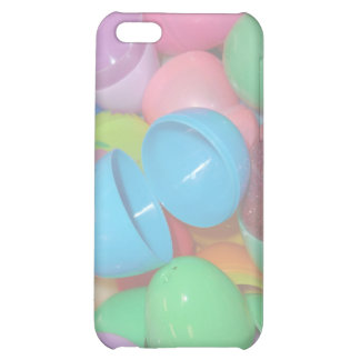 plastic colourful easter eggs pastel background iPhone 5C case