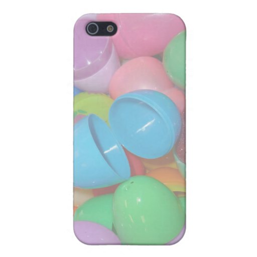 plastic colourful easter eggs pastel background covers for iPhone 5