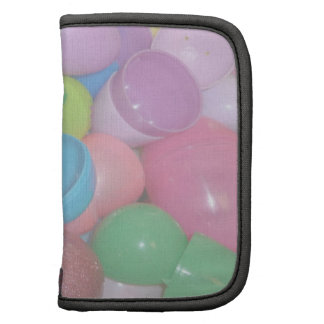 plastic colourful easter eggs pastel background organizers