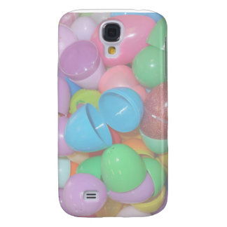 plastic colourful easter eggs pastel background samsung galaxy s4 cover