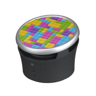 Plastic Construction Blocks Pattern Speaker
