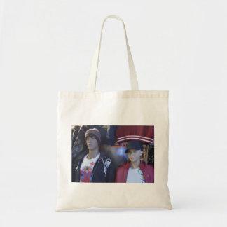 Plastic Couple tote bag
