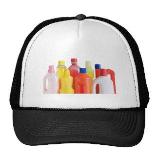 plastic detergent bottles trucker hat