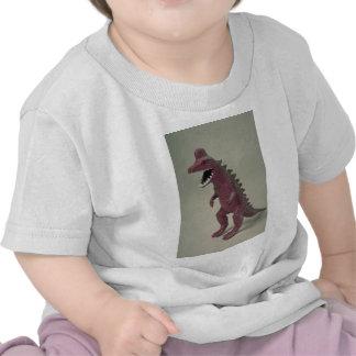 Plastic Dinosaur toy Tee Shirts