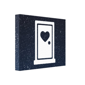 Plastic Doors Minimal Canvas Print
