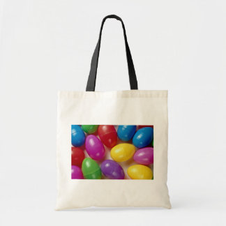 Plastic Easter eggs Canvas Bags