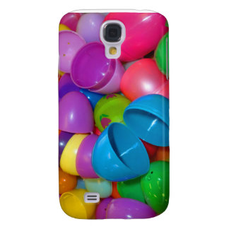Plastic Easter Eggs Blue One Open Photograph Samsung Galaxy S4 Case