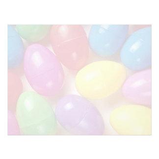 Plastic Easter eggs Customized Letterhead