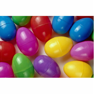 Plastic Easter eggs Photo Cutouts