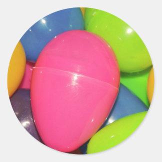 Plastic Eggs Sticker