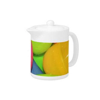 Plastic Eggs Teapot