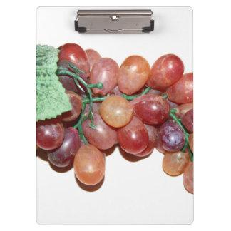 plastic fake grape food image clipboard