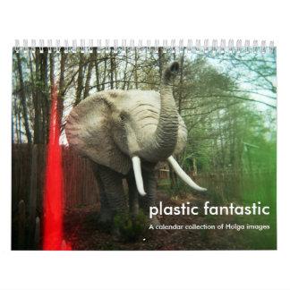 Plastic Fantastic. A holga calendar 2016.