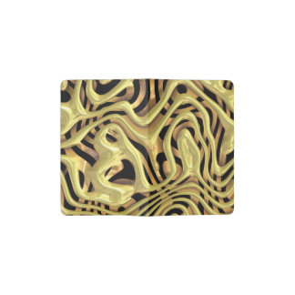 plastic fantasy yellow (I) Pocket Moleskine Notebook Cover With Notebook
