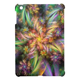 Plastic Flower Spiral iPad Mini Covers