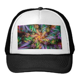 Plastic Flower Spiral Trucker Hat