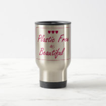 Plastic Free & Beautiful Travel Mug