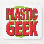 Plastic Geek Mouse Pad