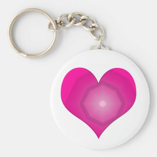 Plastic Heart Keychain By CharmingProducts