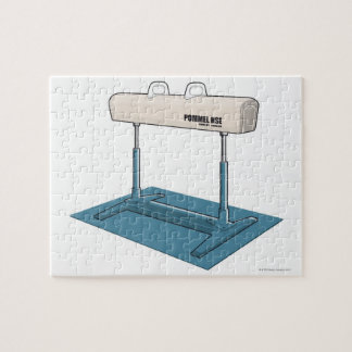 Plastic horse puzzle