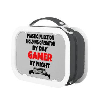 Plastic Injection Molding Operator Gamer Yubo Lunch Box