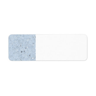 Plastic Return Address Label
