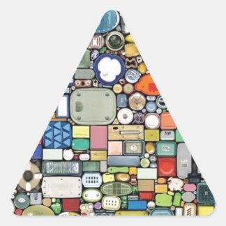 Plastic Magic Elegance Triangle Sticker