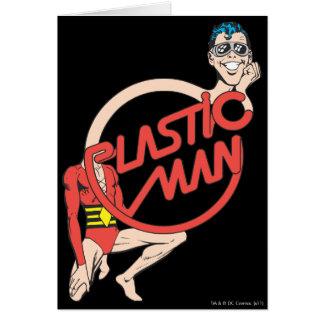Plastic Man Rubberneck Sign Cards