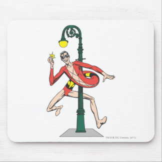 Plastic Man Wraps Streetlamp Mouse Pad