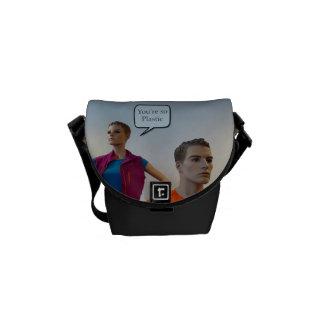 Plastic Mannequins Messenger Bag