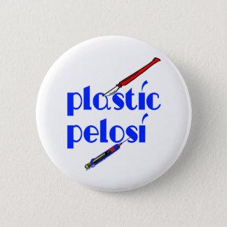 Plastic Nancy Pelosi Button