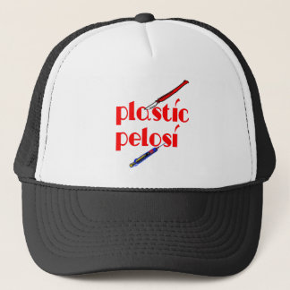 Plastic Nancy Pelosi Trucker Hat