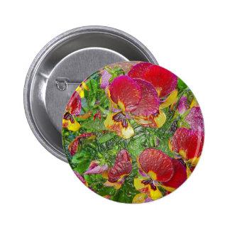 Plastic Pansies Badge