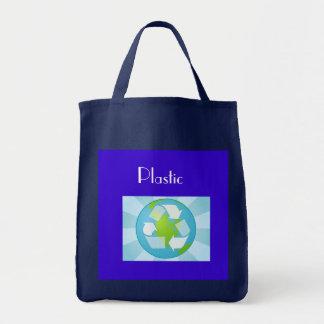 Plastic Recylcing Tote Bag