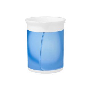 Plastic safety helmet drink pitcher